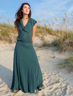 Gaia Conceptions - Gypsy Brooke Wanderer Long Dress, $165.00 (http://www.gaiaconceptions.com/gypsy-brooke-wanderer-long-dress/)
