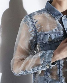 Sheer and denim. 2019 Sheer and denim. The post Sheer and denim. 2019 appeared first on Denim Diy. Denim Fashion, Fashion Outfits, Womens Fashion, Fashion Trends, Fashion Fashion, Diy Outfits, Korean Fashion, Fashion Tips, Kleidung Design