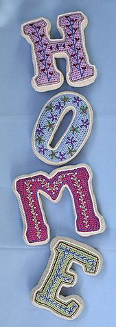 Ravelry: Crochet Letter - crochet pattern, PDF pattern by CAROcreated design