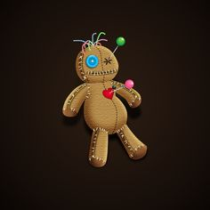 How to Create a Spooky Voodoo Doll in Adobe Illustrator  Design Psdtuts