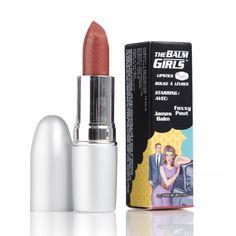 The Balm Girls Lipsticks Foxxy Pout Kobber 4g