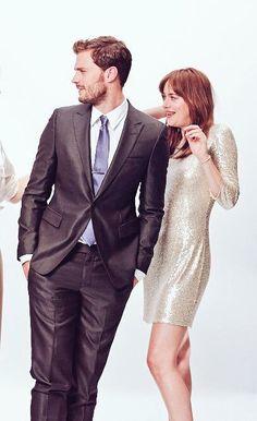 Jamie Dornan & Dakota Johnson - Fifty Shades of Grey Promo