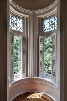 Fabulous Southern Manners YOU Can Own - Green-Moore House (Franklin, TN) - Windows of the Turret Room