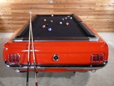 1965 Ford Mustang Pool Table