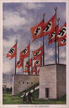 1938, Reichsparteitag Nrnberg, Zeppelinfeld,