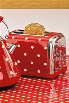 OMG Polka Dotted Kitchen Stuff!!!