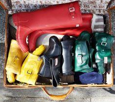 Packable Hunter Boots!