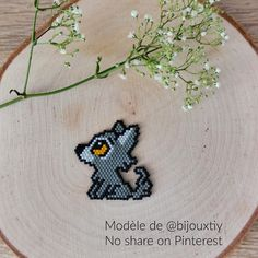 Easy Perler Bead Patterns, Bead Crochet Patterns, Perler Bead Art, Perler Beads, Beading Patterns, Stitch Patterns, Bead Embroidery Tutorial, Beaded Embroidery, Art Perle