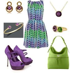 Pretty purple..., created by rkimball on Polyvore