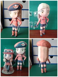 Paperized: Pokemon X and Y Ranger F Papercraft