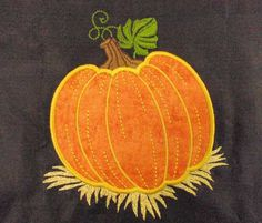 CS Sewing~Pumpkin ART or PES Design