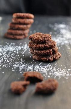 Grain Free Orange Chocolate Cookies