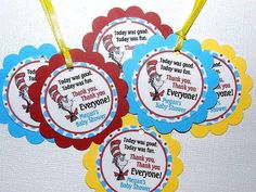 DR SEUSS Baby Shower Package Dr Seuss Baby by APartyWithPaper