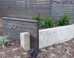 Modern Landscape Horizontal Fences Design, Pictures, Remodel, Decor and Ideas - page 4