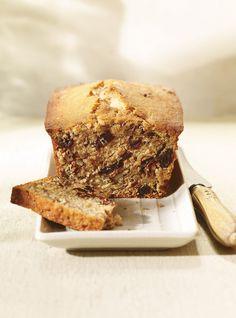 Ricardo& Recipe : Banana Bread with Flaxseed Healthy Cake, Healthy Desserts, Healthy Treats, Greek Yogurt Protein, Patisserie Cake, Gateaux Vegan, Ricardo Recipe, Flax Seed Recipes, Muffin Bread