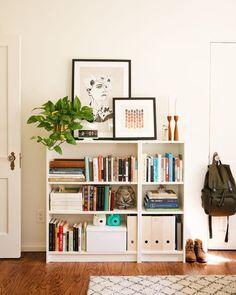 Unser Home Office – Tabea . Unser Home Office Unser Home Office Office Bookshelves, Bookshelf Design, Styling Bookshelves, Bookcases, Home Office Design, Home Office Decor, Office Ideas, Interior Office, New Darlings