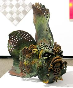 debra brown fish Must Make LOTS of FISH for MO River Conservancy – ceramics Fish Sculpture, Ceramic Animals, Sculptures, Animal Sculptures, Ceramic Sculpture Figurative, Clay Art, Creative, Ceramics, Abstract