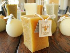 The Grommet team discovers The Bee Man, whose unique, delightfully detailed, colorful, hand-poured candles are made from 100% pure beeswax.