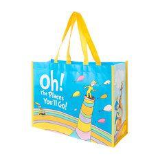 Dr. Seuss Oh! The Places You'll Go! Large Shopper Tote Bag