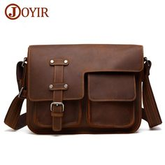 JOYIR Retro Shoulder Bags Genuine Leather Men Bags Real Leather CrossBody  Bag For Male Brand Designer Hasp Messenger Bag. Yesterday s price  US   109.20 ... 45917a35976cf