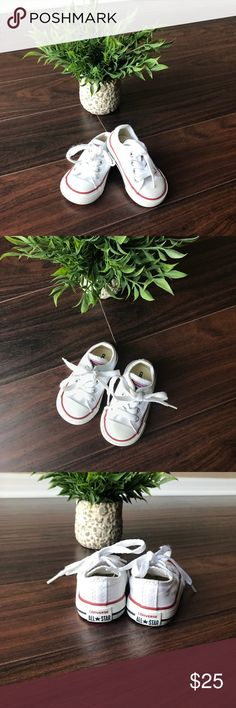 Toddler Chuck Taylor Converse Size 3 toddler Chuck Taylors converse. Minor scuffs around bottom of shoes. Smoke free home. Converse Shoes Sneakers