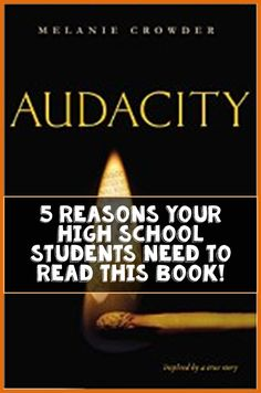 Blog Post by Creative English Classroom: 5 Reasons Your High School Students Need to Read Audacity, by Melanie Crowder, NOW!