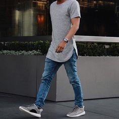 0a49f545c2 Camiseta longline masculina  5 dicas para usar