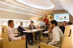 Emirates is launching a luxury private jet charter service with a fully customized Airbus jet. Jets Privés De Luxe, Luxury Jets, Luxury Private Jets, Private Plane, Helicopter Charter, Emirates Airbus, Jet Privé, Dubai, Jet Fly