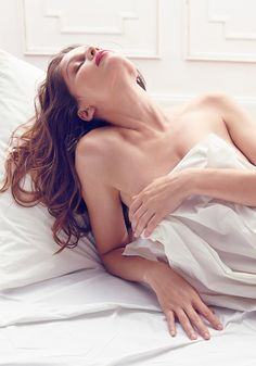 For new fragrance L'Extase, Nina Ricci called on Laetitia Casta to help tell an erotic story of seduction.