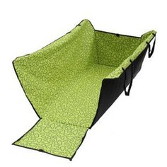 This is GENIUS!! Like a Lil backseat playpen. GOGO Dog Auto Travel Back Seat Pet Hammock Easy-Fit Seat Cover