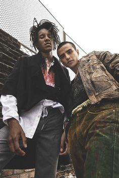 Male Fashion Trends: Fabricio Franco y Romano del Campo llevan la moda de las calles a otro nivel para FGUK Magazine