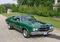 70 Chevelle SS Green