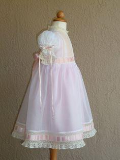 Organdy Heirloom Dress with Slip