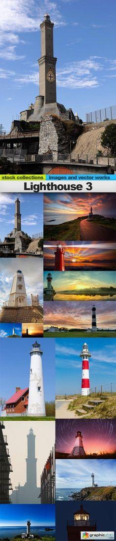 Lighthouse 3 15 x UHQ JPEG  stock images