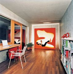 Verner Panton Living Tower by Vitra / With its unique form and quirky design, the Verner Panton Living Tower by Vitra could be your best companion during relaxation hours. http://thegadgetflow.com/portfolio/verner-panton-living-tower-vitra/