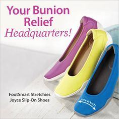 You've come to the right place for bunion solutions! Shop day-to-night relief   at #Footsmart