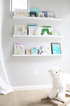 Book Shelf & Lamb Rocker