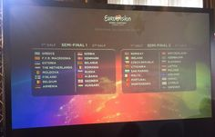 Eurovision 2015 Semi-Final Allocation Draw: Which countries will sing when?