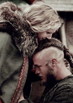 Ragnar & Lagertha #Vikings