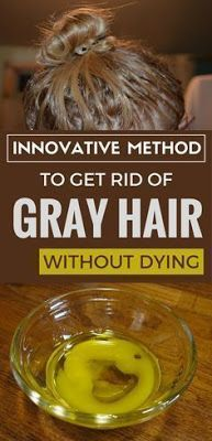 Thicker Hair Remedies Innovative method to get rid of gray hair without dying. - Innovative method to get rid of gray hair without dying. Herbal Remedies, Health Remedies, Natural Remedies, Beauty Care, Beauty Hacks, Beauty Box, Beauty Skin, Beauty Makeup, Grey Hair Remedies