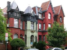 Another great row of DC houses.  Just about every row house in DC, young and old, has character and a story to tell. #DC