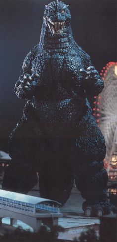 This is a cool pic of Godzilla!