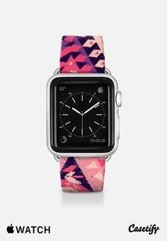 Check out my new @Casetify using Instagram & Facebook photos. Make yours and get $10 off using code: P457MB #apple #watch #purple #geometric #pink #chic #fashion