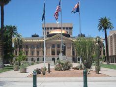 Arizona Capitol Building, Phoenix, Az