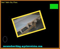 Pool Table Diy Plans 104153 - Woodworking Plans and Projects!