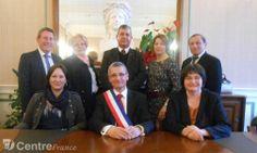Municipales 2014 - Vichy - VARENNES-SUR-ALLIER (03150) - Roger Litaudon élu maire
