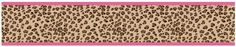 Cheetah Girl Pink and Brown Baby Kids and Teens Wall Paper Border by Sweet Jojo Designs >>> For more information, visit image link.Note:It is affiliate link to Amazon. #65likes