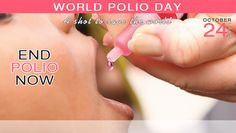 World Polio Day... End Polio Now... A Shot to Save the World...  https://ehealthaccess.com