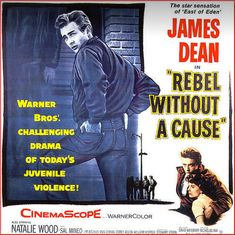 James Dean Rebel Without A Cause Movie 1956 - Mad Men Art: The 1891-1970 Vintage Advertisement Art Collection