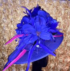 Kentucky Derby Hats by Headturners - Our Derby Hats Designs - Lexington, KY Race Day Fashion, Fashion Hats, Derby Outfits, Red Hat Ladies, Red Hat Society, Derby Day, Kentucky Derby Hats, Church Hats, Love Hat